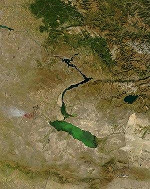 Lake Zaysan - Image: Zaysan