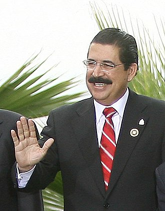Manuel Zelaya - Manuel Zelaya in 2007