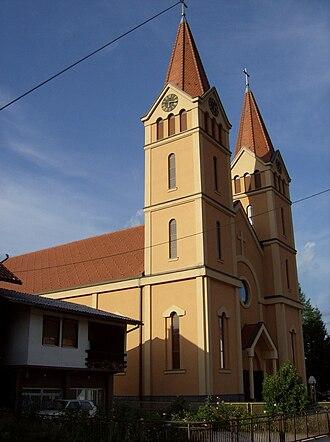 Žepče - Church of St.Anthony of Padua