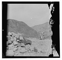 Zerka-Main & Machaerus, also Zerka (town), T-J (i.e., Transjordan), Nov. 1930, May 5-6, 1932. LOC matpc.14109.jpg