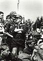 Zesde Haarlemse Jamboree, 2400 scouts. Aangekocht van United Photos de Boer bv. - Negatiefnummer 34742 k 15 a. - Gepubliceerd in het Haarlems Dagblad van 24.07.1991. Identificatienummer 54-032142.JPG