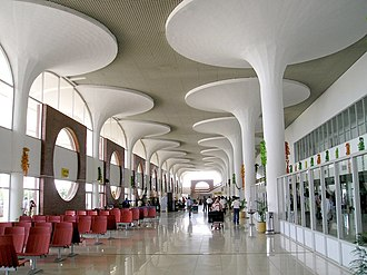 Shahjalal International Airport - First floor international departure zone