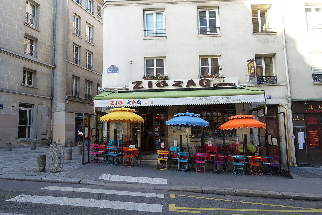 Zig Zag Caf Ef Bf Bd Ticket Restaurant