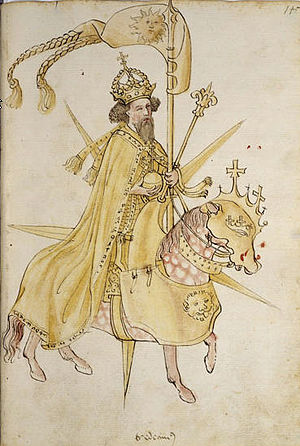 John Hunyadi -  Sigismund, King of Hungary