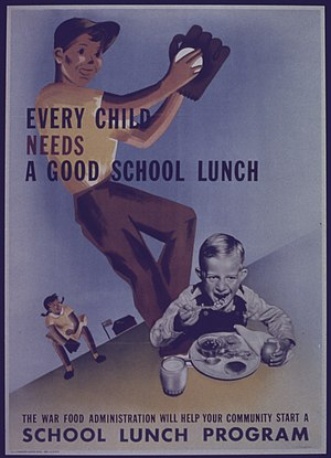 """Every child Needs a Good School Lunch&qu..."