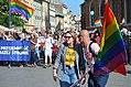 """""""Marsz Równości"""", 0389 Das Queer Mai Festival 2018, die Kultur der LGBTQI in Krakau, Marsch der Gleichheit am 19. Mai 2018.jpg"""