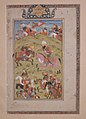 """Rustam Kills the Commander of the Dehz"", Folio from a Shahnama (Book of Kings) MET sf68-215-24.jpg"
