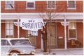 """We Survived TMI"" sign in Middletown, Pennsylvania - NARA - 540037.tif"