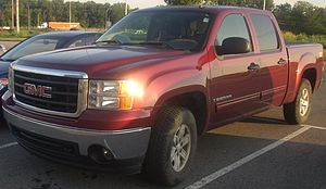 2007-2010 GMC Sierra photographed in Kirkland,...