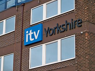 History of ITV television idents - The 2006-13 ITV Yorkshire logo displayed on The Leeds Studios (December 2009)