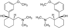 (1R,2R)- & (1S,2S)-Tramadol Enantiomers Structural Formulae.png