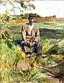 (Albi) Un travailleur à Céleyran - Toulouse-Lautrec 1882 - Musée Toulouse-Lautrec.jpg