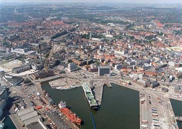 Århus city trafikhavn