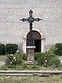 Église Saint-Louis de Mont-Dauphin - croix de l'église (juillet 2020).jpg