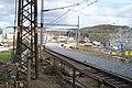 Ústí nad Labem, Želeniční most, Rekonstrukce železniční tratě.JPG