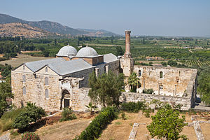 Anatolian beyliks - İsa Bey Mosque in Selçuk near İzmir, built by the Beylik of Aydınids in 1375.