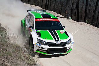 World Rally Championship-2 - Škoda Fabia R5