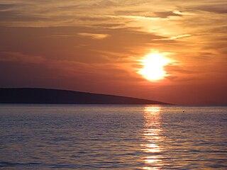 Škrda island in Croatia