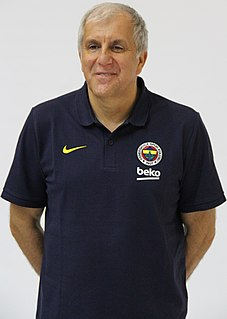 Željko Obradović Serbian basketball player, basketball coach