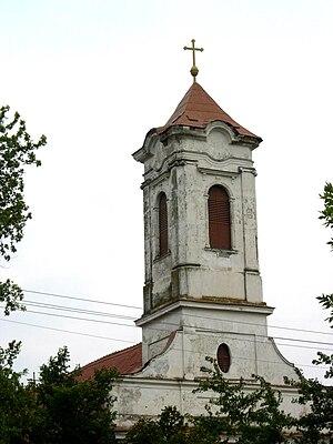 Žitište - The Orthodox church of Saint George, built in 1810.