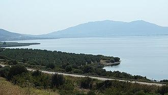 Lake Volvi - Panoramic view