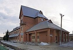 Железнодорожный вокзал. Сортавала. Апрель 2013г..jpg