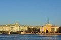 Зимний дворец, Главное Адмиралтейство (Восточный павильон). Вид с Университетской набережной.jpg