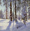 Иван Ф. Шульце - Зимний пейзаж 3.jpg