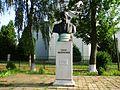 Пам'ятник - погруддя Т. Г. Шевченка встановлено 14.07.2002р. з нагоди 650 річчя першої письмової згадки про с. Підберізці. - panoramio.jpg