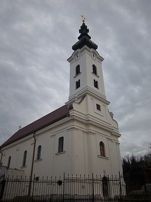 Church of St. Nicholas, Vukovar - Church of St Nicholas