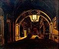 Рабус Карл Иванович - Внутренний вид нижней церкви храма Василия Блаженного.jpg