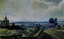 Санжари на початку 1800 их років