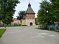 Тула. Башня Ивановских ворот. Здесь будет установлен памятник Дзержинскому, снятый со Старой площади Москвы. 12-07-2009г. - panoramio.jpg
