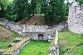Цесис (Латвия) Раскопки на территории замка - panoramio.jpg