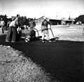 בית-זרע 1939 - סלילת כביש פנימי לקבוץ העובדים לא מזוהים - iוינטרשטייןi btm11415.jpeg