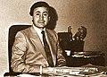 الدكتور قدامة الملاح رئيس قسم الهندسة النووية في جامعة بغداد.jpg
