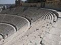 المدرج الروماني مشهد من المدرج الروماني صباحا.jpg