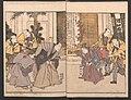 """『俳優三階興』-Amusements of Kabuki Actors of the """"Third Floor"""" -Dressing Room- (Yakusha sangaikyō), by Shikitei Sanba MET JIB38a 008 crd.jpg"""