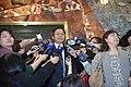 張善政責成農委會擬定禽流感防疫周詳計畫後接受媒體聯訪 03.jpg