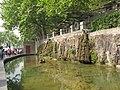 洛阳洛龙区龙门石窟景区里清澈的禹王池 - panoramio.jpg