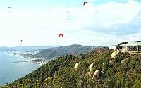玉野市 王子ヶ岳 ❀ 心ややおちつけば遠山霞みかな(種田山頭火) - panoramio.jpg