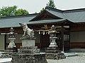落杣神社・御霊神社の拝殿 五條市黒駒町 2012.6.11 - panoramio.jpg
