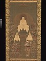 釈迦三尊十六善神像-Shakyamuni Triad with the Sixteen Protectors of the Great Wisdom Sutra MET DP271365.jpg