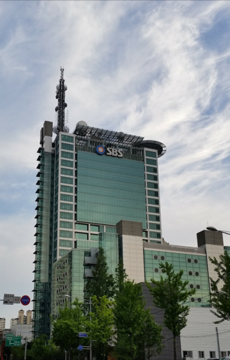 Seoul Broadcasting System - SBS Broadcast Center in Mok-dong, Seoul