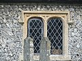 -2020-11-06 Window on the south facing elevation, St Bartholomew's, Hanworth, Norfolk (2).JPG