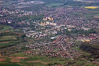 Piekary Śląskie - Aerial view of the city