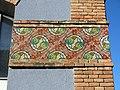 009 Museu de Tortosa, antic escorxador, decoració ceràmica.JPG
