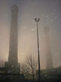 The IKEA Towers at IKEA Croydon in London, United Kingdom
