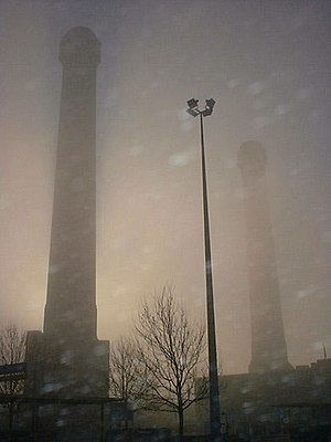 Purley Way - The IKEA chimneys