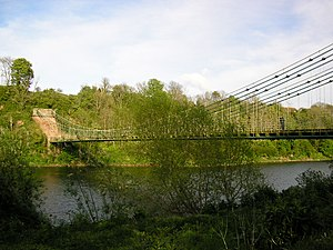 Union Bridge (Tweed) - Image: 055167 union bridge